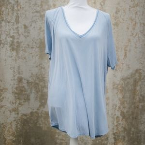 Project Social T Tops - Project Social T Utility Light Blue Tee